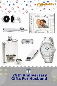 Gift Ideas For 25th Wedding Anniversary For Husband 25th silver wedding anniversary gifts for husband