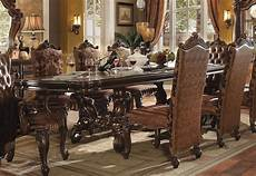 120 Inch Dining Room Table versailles 120 inch dining table cherry oak by acme