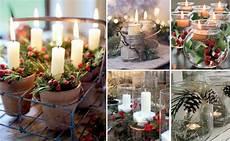 decorazioni natalizie con candele decorazioni natalizie