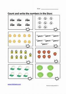 kidz worksheets preschool counting worksheet12