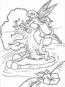 printable tinkerbell coloring pages for free