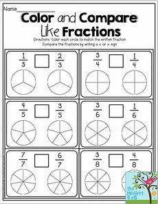 comparing fraction worksheets for grade 5 4181 teaching simple fractions fractions teaching fractions simple fractions