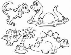 Ausmalbilder Dinosaurier Zum Drucken Kostenlose Malvorlage Dinosaurier Und Steinzeit