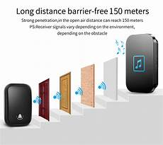 Cacazi Fa86 Self Powered Wireless Doorbell by Cacazi Fa86 Self Powered Waterproof Wireless Doorbell 1