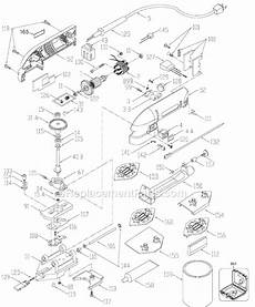 Porter Cable J 444 Parts List And Diagram Type 2