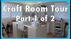 craft room tour part 1 of 2 youtube