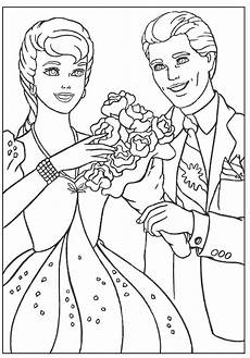 coloring pages ken and mattel s