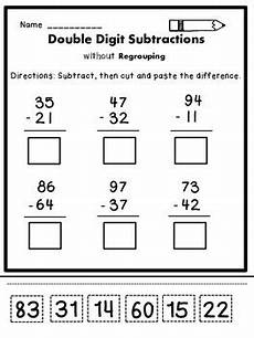 subtraction with and without regrouping worksheets for grade 3 10371 digit subtraction without regrouping by s