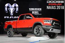2019 dodge ram forum 2019 ram 1500 debuts in detroit with roomier cabin