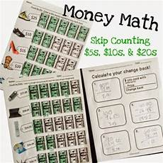 skip counting money worksheets 11954 skip counting money math 5s 10s and 20s breezy special ed