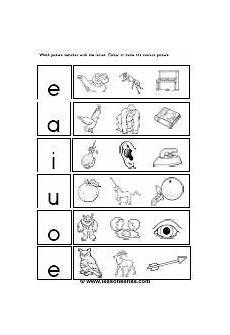 kindergarten vowel worksheets cool pre k worksheets for