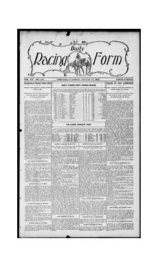 daily racing form n tuesday august 24 1909 daily racing form free download streaming