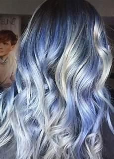 Platinum Blue Hair