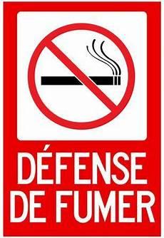 affiche défense de fumer defense de fumer no sign poster posters at