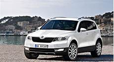 Skoda Snowman Seven Seater Suv Rendered Autoevolution