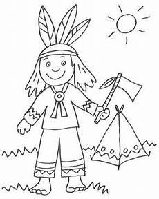Malvorlagen Indianer Muster Cowboys Indianer Kostenlose Malvorlage Indianer Und