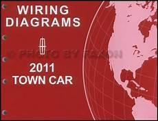 2011 lincoln town car wiring diagram manual original electrical schematic book ebay
