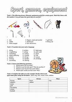 sport worksheets intermediate 15809 sport equipment worksheet free esl printable worksheets made by teachers
