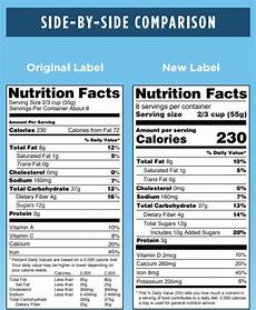 how to read the newly updated 2020 us food nutrition facts