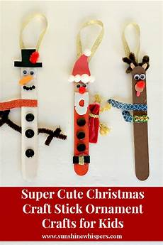 totally craft stick ornament crafts for