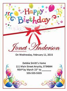 birthday card template open office free birthday flyer template free flyer templates