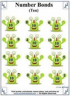 29 best number bonds to 10 images pinterest homeschool homeschooling and math activities