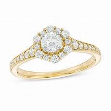 love s destiny by zales 3 4 ct t w certified diamond