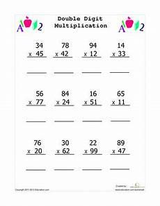 3rd grade math worksheets 2 digit multiplication 4869 digit multiplication multiplication worksheets multiplication math worksheets
