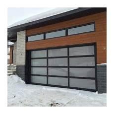Panoramique Aluminium Verre Portes De Garage Cedo