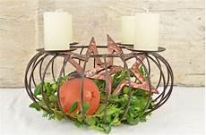 adventskranz f 252 r 1000 dekorationsideen aus metall in braun