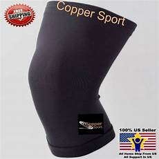 copper leg sleeve copper sport knee sleeve compression wear fit