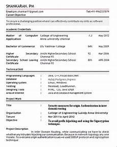 professional resume for freshers rtr resume format resume format exles resume