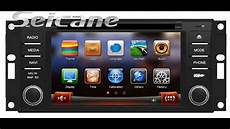 how cars run 2007 chrysler sebring navigation system 7 inch hd 2007 2008 2009 2010 chrysler sebring in dash radio dvd player gps ipod aux youtube