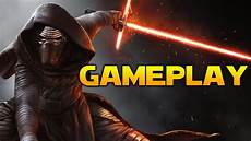 star wars battlefront 2 kylo ren gameplay the force awakens mod youtube