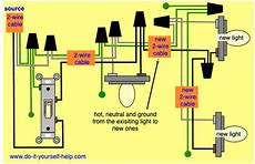 wiring diagrams to add a new light fixture do it yourself help com