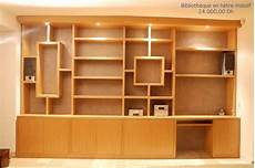 bibliothèque moderne sur mesure modele bibliotheque en bois id 233 es de d 233 coration