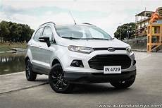 2017 Ford Ecosport Trend Black Edition A T Car Reviews
