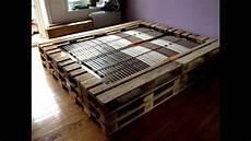 Europaletten Möbel Bett - doppelbett aus europaletten justdoit