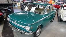 1969 nsu prinz 4l exterior and interior retro