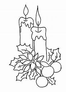 disegni di candele natalizie coloring pages candle