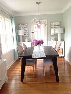 dining room paint color sea salt by sherwin williams table west elm chairs marshall s