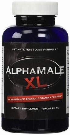 alpha male xl enhancement energy pills men testosterone