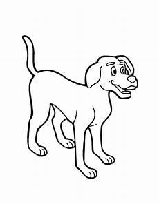 malvorlagen kinder hund