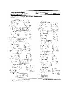 u substitution with definite integrals worksheet tutor usa com worksheet name calculus