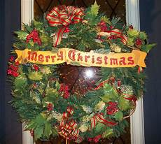 merry christmas wreath christmas pinterest