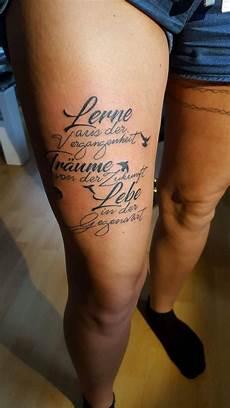 Ideen Oberschenkel Frau Oberschenkel Tattoos
