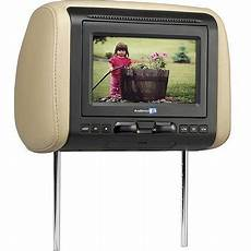 dvd player auto audiovox avxmtghr1d 7 quot headrest monitor with built in dvd