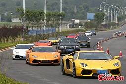 High End Sports Cars Rally In Ancient Town1  Chinadaily