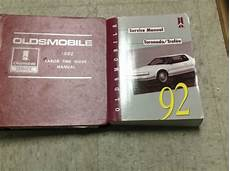 motor repair manual 1992 oldsmobile toronado electronic throttle control 1992 oldsmobile olds toronado trofeo service shop repair manual set w labor book ebay