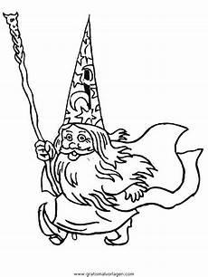 zauberer 10 gratis malvorlage in fantasie zauberer ausmalen